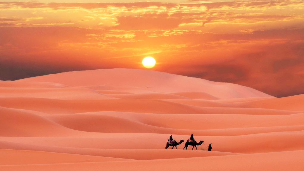 Smooth Desert