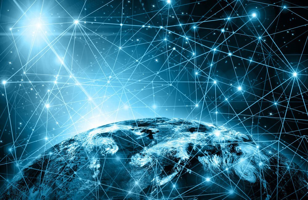 Internet Space Networks Wallpaper