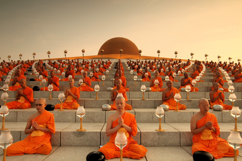 Magha Puja Day: The Light Of Peace Ceremony