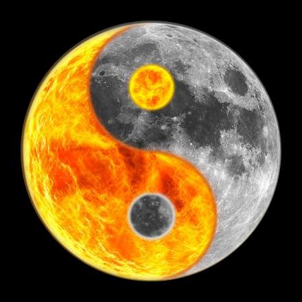 Yin-Yang Moon Phases