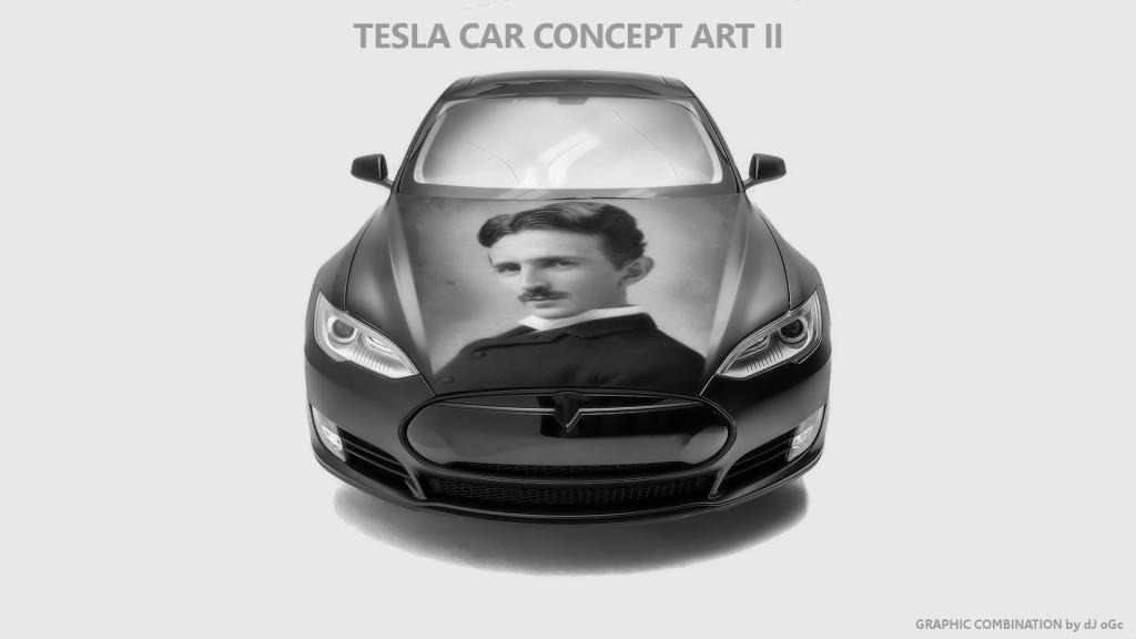 Tesla Car Concept Art